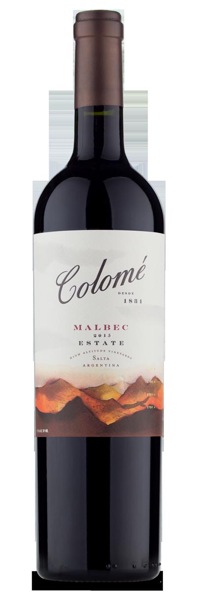Colome Estate Malbec 2015