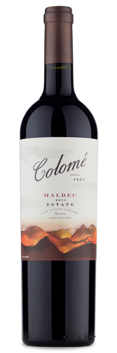 Colome Estate Malbec 2015