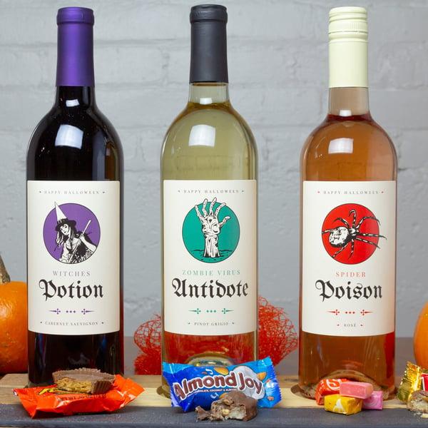 Halloween Essentials Wine Gift Set