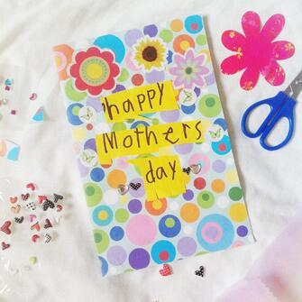 Happy Mothers Day Handmade Card
