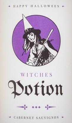 potion wine label
