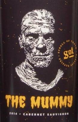mummy wine label