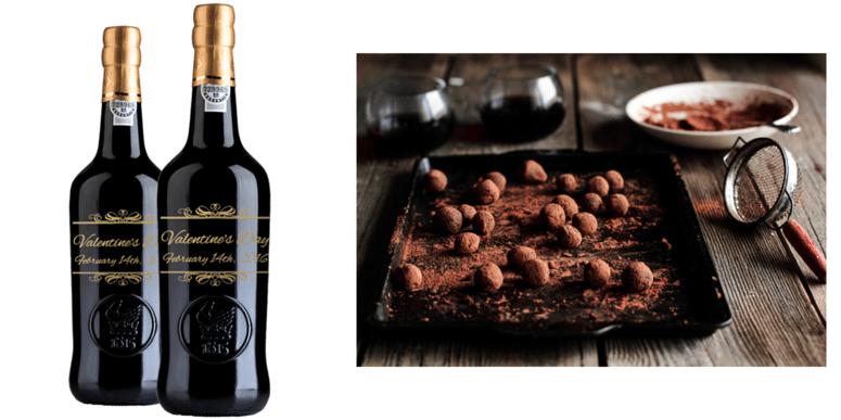 Serve wine with dessert