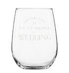 wine wedding favors glassware