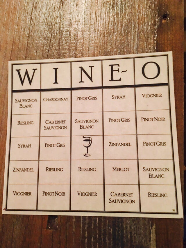 Wine Themed Bachelorette Party Ideas Wine-O Bingo
