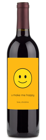 wine gifts with emojis