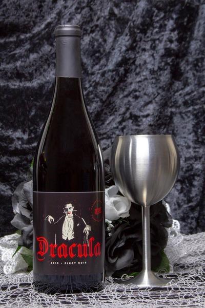 dracula wine bottle
