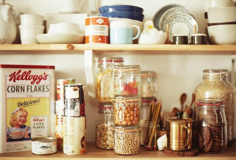 food kitchen pantry