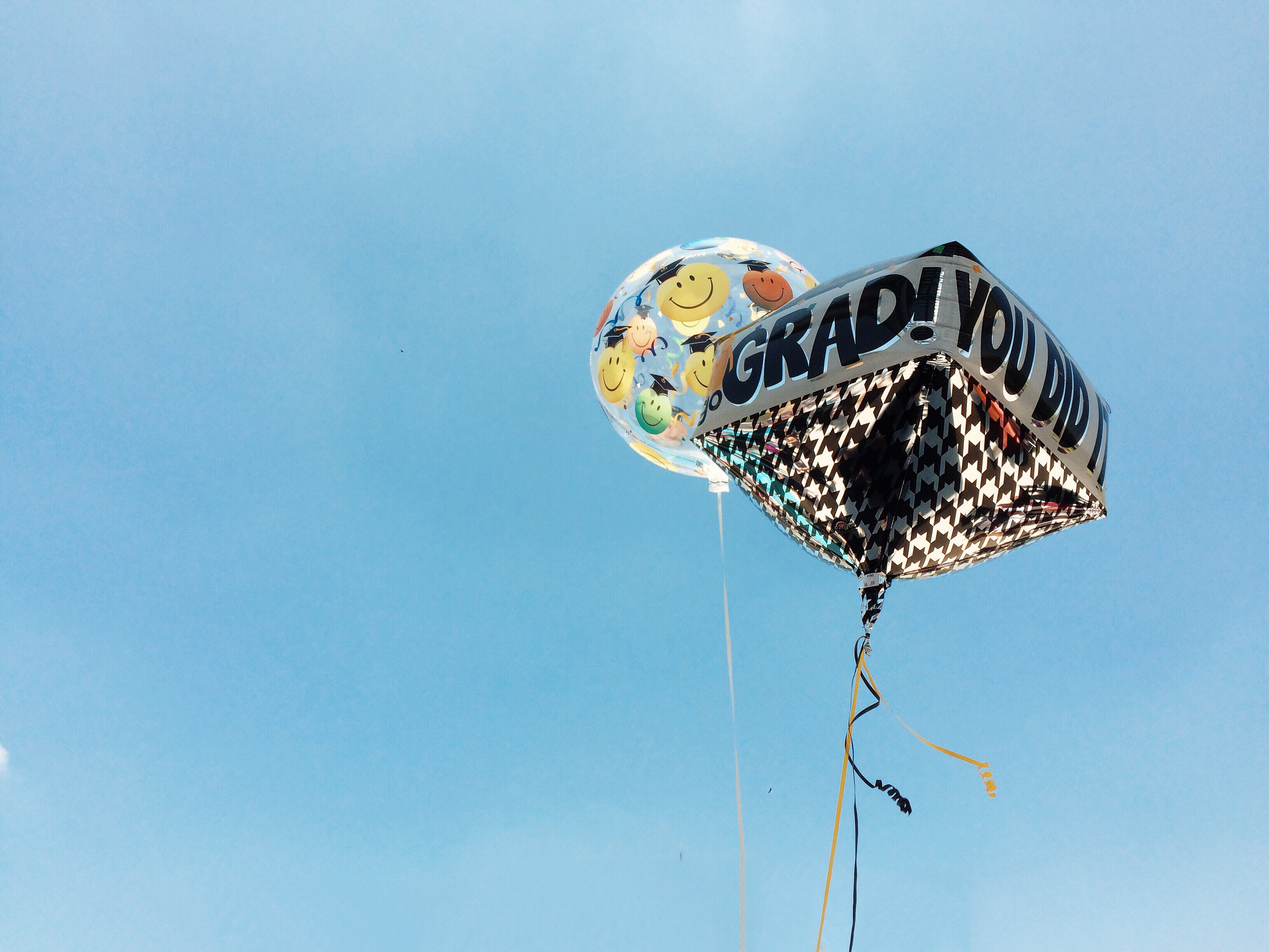 grad balloon you did it