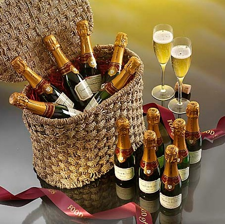 mini bottles in a basket.jpg