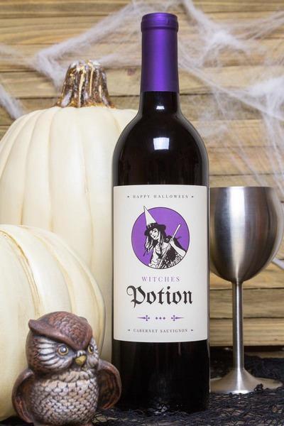 potion wine bottle