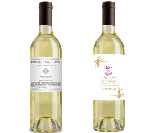Standard Bottle of Wine Size