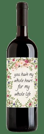 Personalized Wine Label